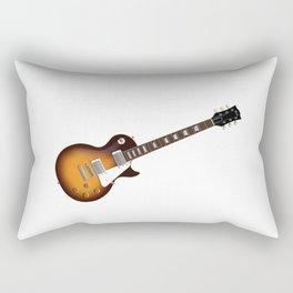 Sunburst Electric Guitar Rectangular Pillow