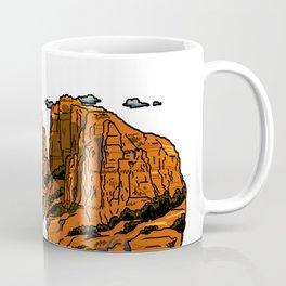 floating sedona mountain ridge Coffee Mug