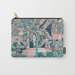 washington dc city skyline Carry-All Pouch