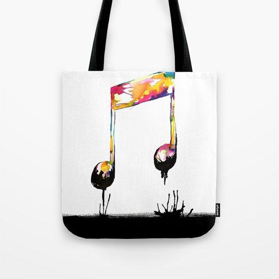 Feelings behind the darkness Tote Bag