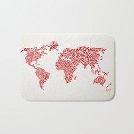 Love, You Are My World Bath Mat