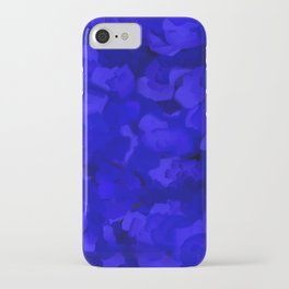 Rich Cobalt Blue Abstract iPhone Case