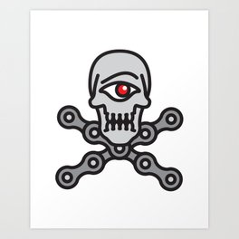 Cyclo-Pirate Art Print