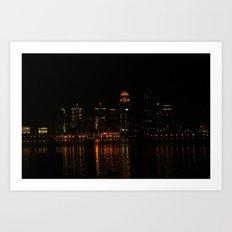 Louisville, Ky Art Print