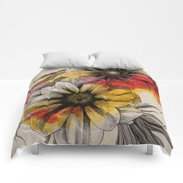 Floral Series: Gazania Rigens Comforters