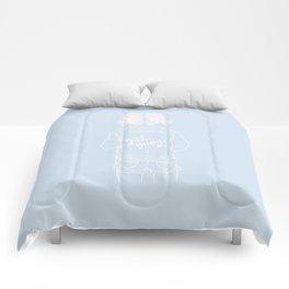 girl gang Comforters