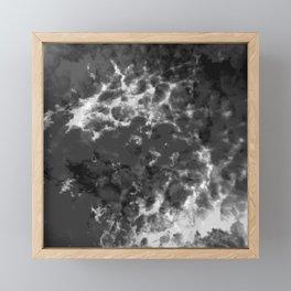 satellite view? Framed Mini Art Print