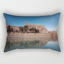 Palma Cathedral Rectangular Pillow