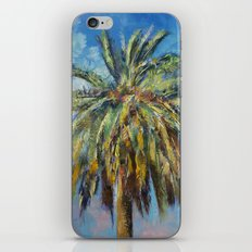 Canary Island Date Palm iPhone & iPod Skin