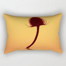 Golden Teazle Glow Rectangular Pillow