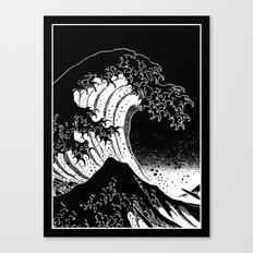 Hokusai, the Great Wave Canvas Print