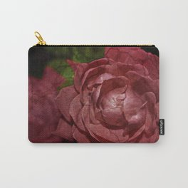 Cracked Red Rose Carry-All Pouch