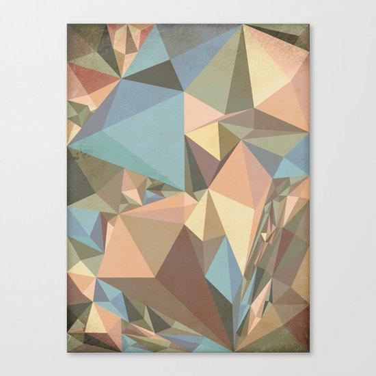 Renaissance Triangle Pyramids Canvas Print