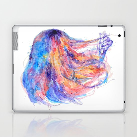 I will help you to overcome life's obstacles Laptop & iPad Skin