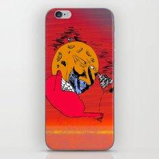 Moon Chaka iPhone & iPod Skin