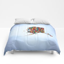 State of Mind - Alaska Comforters