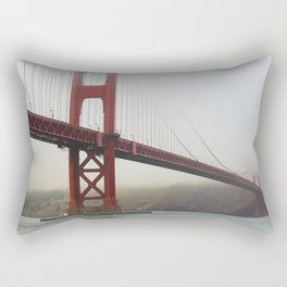 Golden Gate Fog Rectangular Pillow