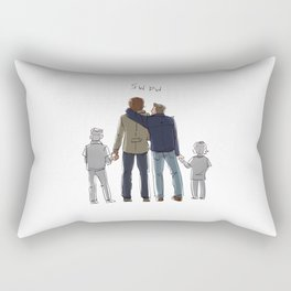 the history books forgot about us Rectangular Pillow
