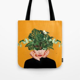 Lady Flowers || Tote Bag