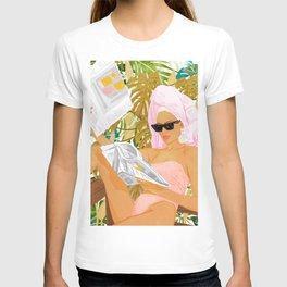 Vacay News #illustration #painting T-shirt