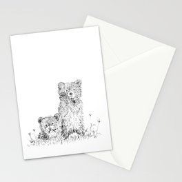 Bear Cubs Stationery Cards