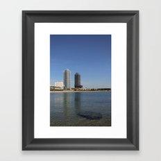Barcelona (2) Framed Art Print