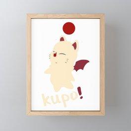 Final Fantasy  Kupo Framed Mini Art Print