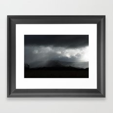 The Hill Framed Art Print
