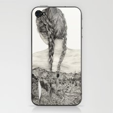 All That Is Left Is The Trace Of A Memory iPhone & iPod Skin