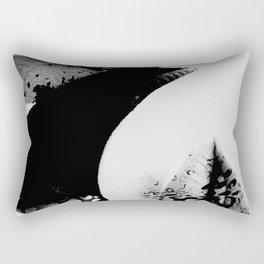 pois on mouth Rectangular Pillow