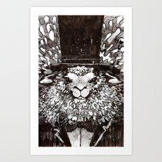 Woolliam Art Print