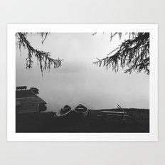 Gillette Lake Art Print