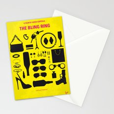 No784 My The Bling Ring minimal movie poster Stationery Cards