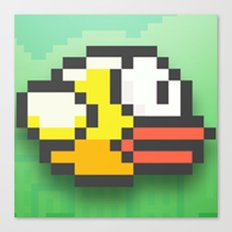 Flappy birdy Canvas Print