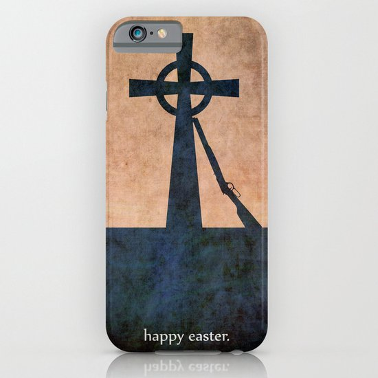 EASTER 1916 - Irish | Vector | Abstract | Surrealism | retro | Vintage | Ireland | Dublin iPhone & iPod Case