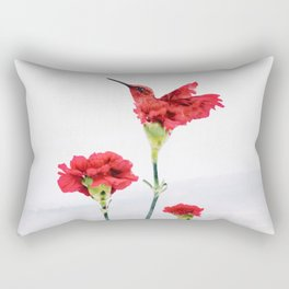 Carnation (r)evolution Rectangular Pillow
