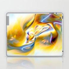 Fluid Gold Laptop & iPad Skin