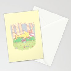 The Easter Bunny Shark Stationery Cards