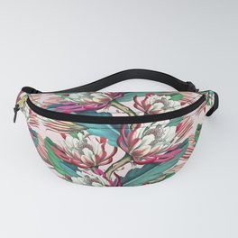Flowering cactus IV Fanny Pack