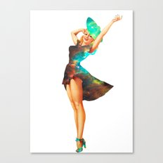 Cosmic Pinup # 2 Canvas Print