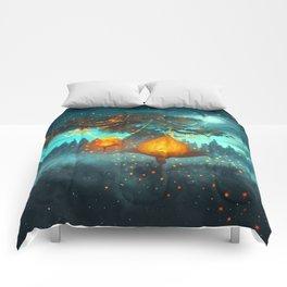 Magical lights Comforters