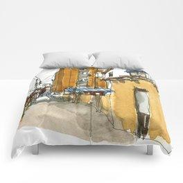 vintage city 1881 Comforters
