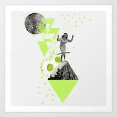 HULA HOOP Art Print