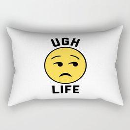 Ugh Life Funny Quote Rectangular Pillow