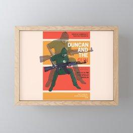 Dunk and gun movie Framed Mini Art Print