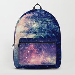 Galaxy Forest : Deep Pastels Backpack