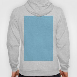 Baby Blue Solid Color Hoody