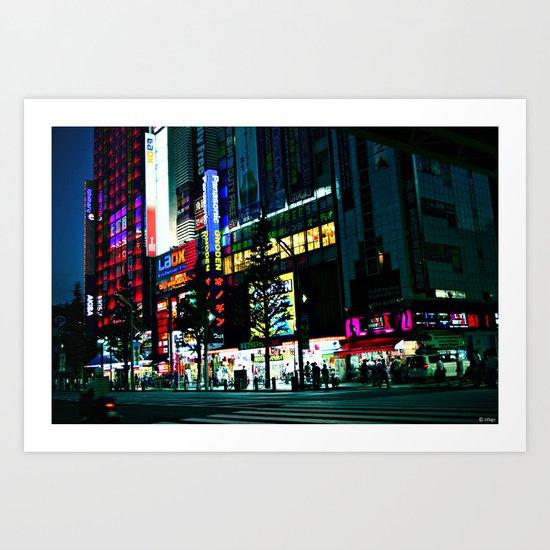 TKY-Akihabara Art Print