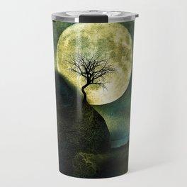 The Moon and the Tree. Travel Mug