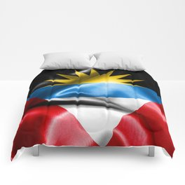 Antigua and Barbuda Flag Comforters